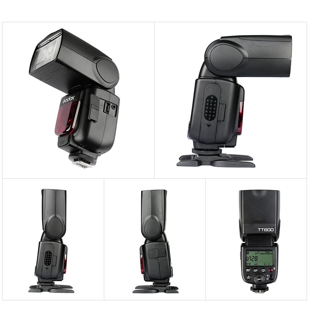 Godox TT600 TT600S Flash 2.4G Speedlite inalámbrico + X1T-C / N / S - Cámara y foto - foto 3