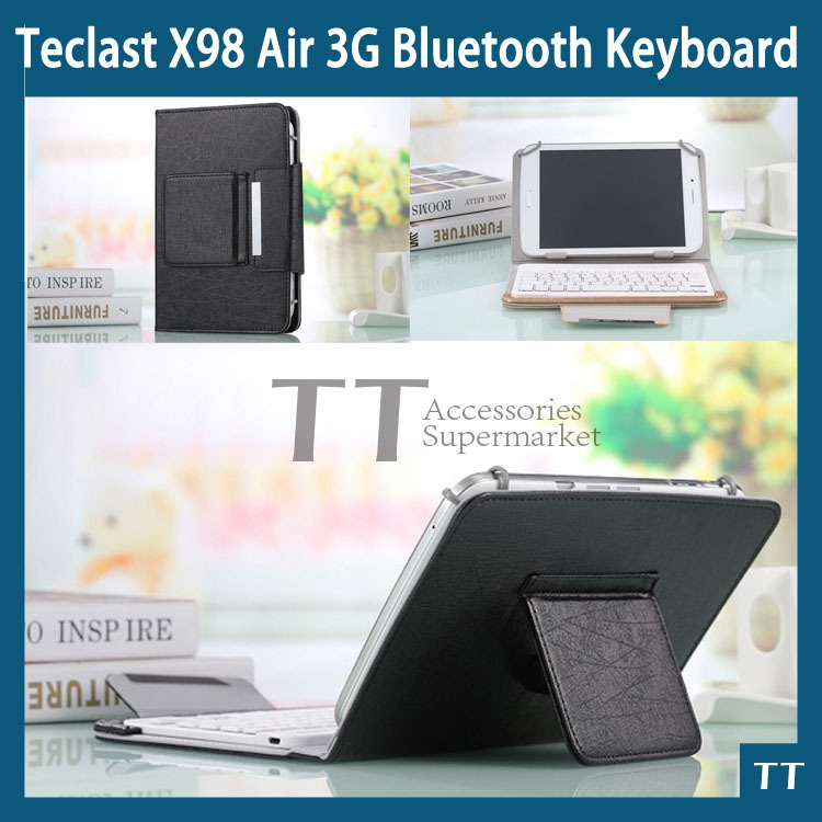 Bluetooth Keyboard Case for Teclast X98 Air 3G 9.7 inch Tablet PC X98 plus X98 Air III Bluetooth Keyboard Case+free 2 gifts 2016 newest keyboard case cover with touch panel for teclast x98 air 2 tablet pc keyboard for teclast x98