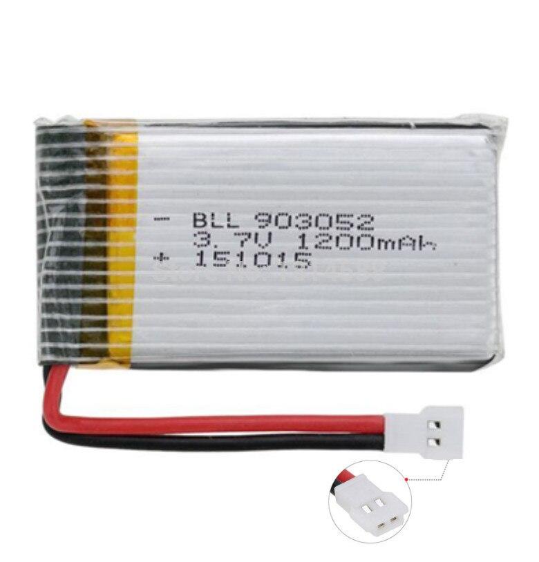 3.7V 1200mAh 25C battery for Syma X5SW X5SC X5S X5SC-1 M18 H5P RC Quadcopter Parts
