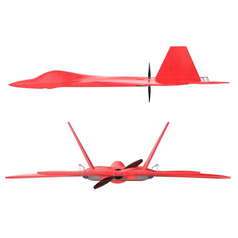 HSD passe-temps EPP RC avion parc Flyer F22 580mm pour les débutants Kit ou option PNP