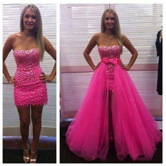 9273b8ce3 Maxi Longo Overskirt Tule Rosa Fúcsia Destacável Saias de Tule para Vestidos  de Festa de Casamento
