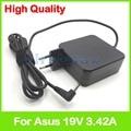 19V 3.42A адаптер переменного тока зарядное устройство для ноутбука Asus X507UB K556U R540UP R301UJ K456UQ K456UR K456UV K510UN K510UR K556UV L402BP штепсельная вилка европейског...