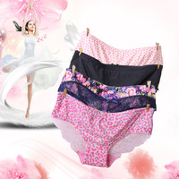 2017 Women Milk Silk Underwear Manufacturers Selling Sexy Hollow Fashion Lady Briefs Panties Tanga G String