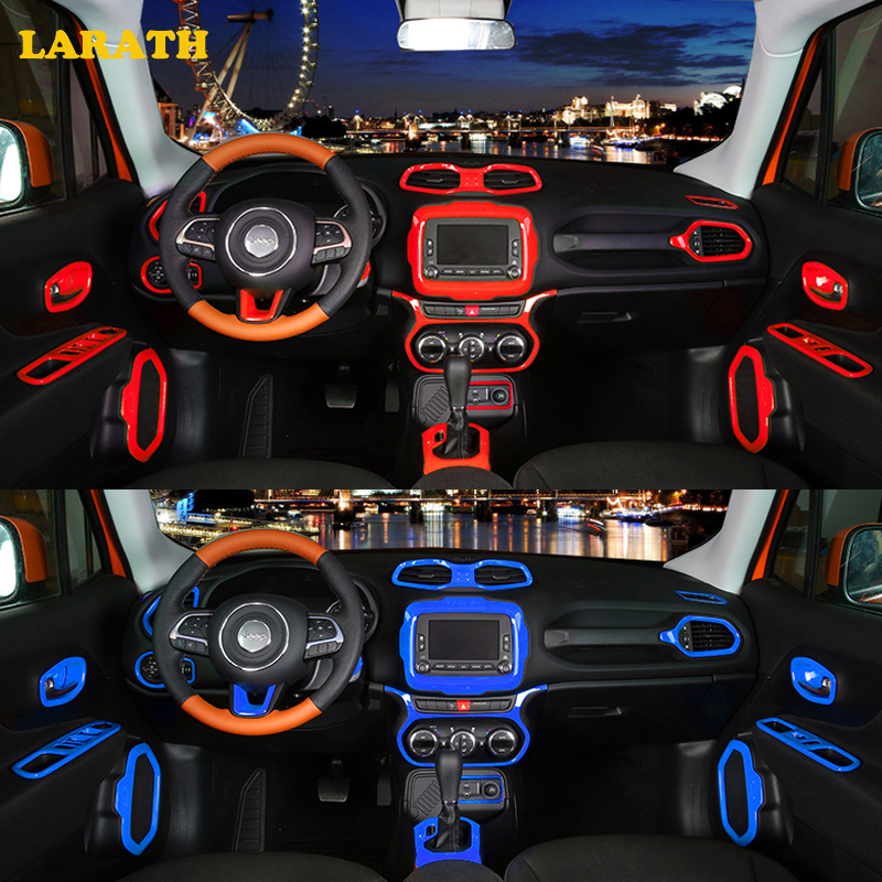 Amazing LARATH Car Styling Car Accessories Interior Accessories Decoration Cover  For Jeep Renegade 2015 2016 2017 In Interior Mouldings From Automobiles ...