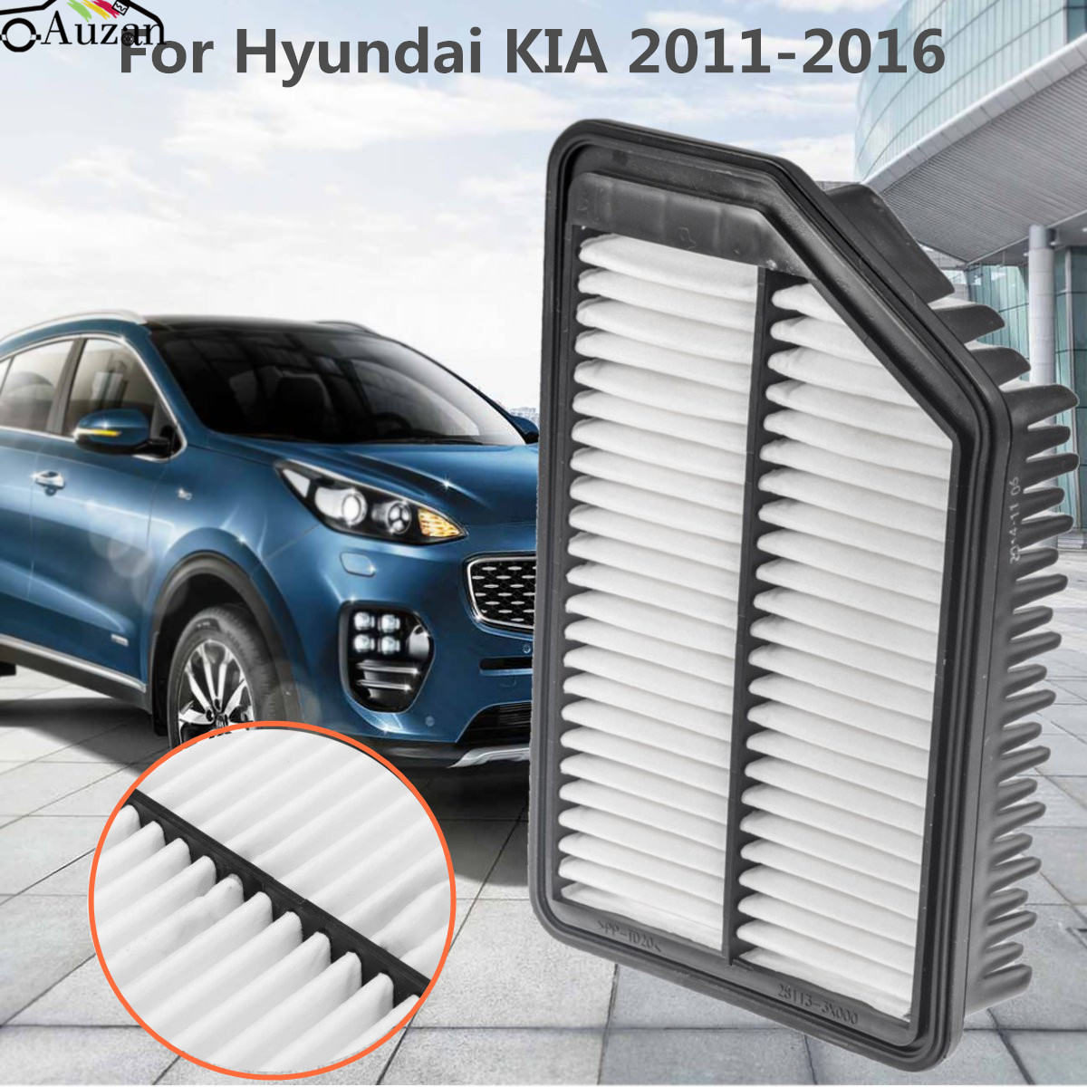 KIA OPTIMA COMBO CABIN /& AIR FILTER FOR KIA OPTIMA 2.4L ENGINE 2011-2012