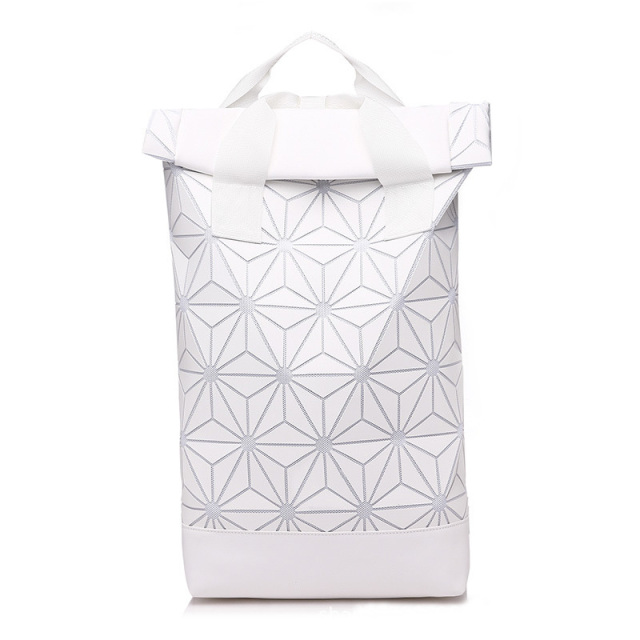 Luminous Geometric Design Large Women's Backpack