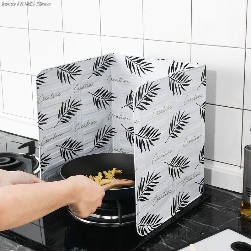 Kitchen Utensils Oil-Block Stove-Cooking Anti-Splashing Heat-Insulation 1pc Supplie Aluminum-Foil