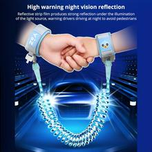 Reflective Safety Harness Wrist Leash Children Kids Rope Wristbands Toddler Baby Anti Lost Safety Bracelet