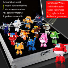one piece anime action figure super wings deformation robots bonecos china robot pop hot toys for children movie tv kids gift