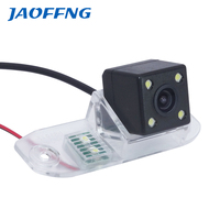 Volvo Camera Car Rear View Camera With 4 LED HD CCD Camera For Volvo S40 V40