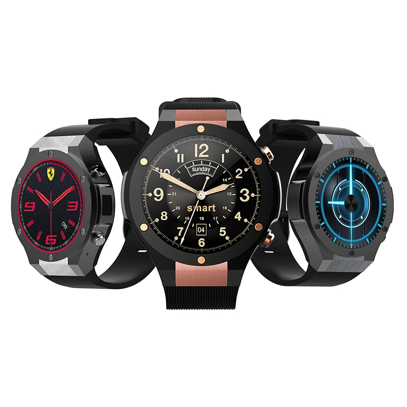 Microwear H2 Smart Watch/ Watch Phone MTK6580 Android 5.0 1G RAM 16GB ROM 1.39 inch 400*400 Heart Rate Monitor цена и фото