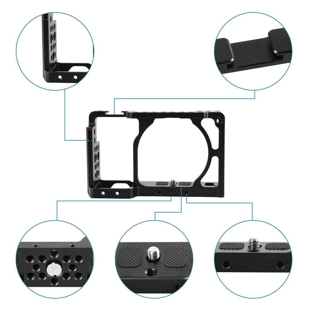 SCLS A6500/A6300 Cage pour Sony ILCE-6000/ILCE-6300/ILCE-A6500/Nex-71661