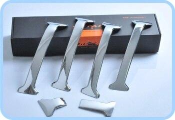 Высокое качество ABS Хром 6 шт Украшение решетки отделка для Toyota Prado 4000/2700