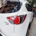 Para 2012 2013 2014 Mazda CX-5 CX 5 CX5 Luces Traseras cubierta de marco de Luz Luces de la lámpara del ajuste de Alta Quanlity ABS Cejas 2 unids/set