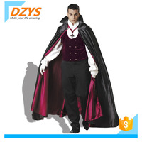 XZ Male vampire Earl Costume Halloween cosplay Costume Masquerade Ball stage Costume demon outfit