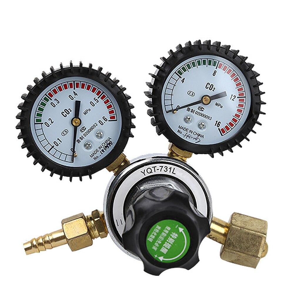Meterk Nitrogen/CO2 Pressure Reducing Regulator Reduction Valve Anti-fall Nitrogen Regulator