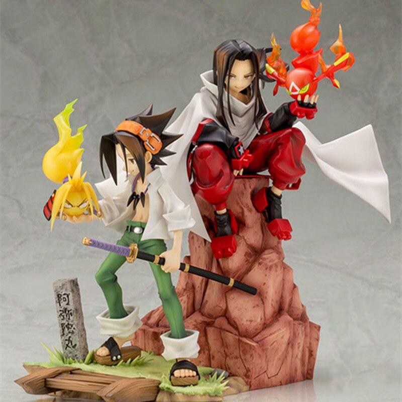 6 ARTFX J Anime Shaman King Yoh Asakura 1/8 Scale PVC Action Figure Collectible Model Doll Toys Gift