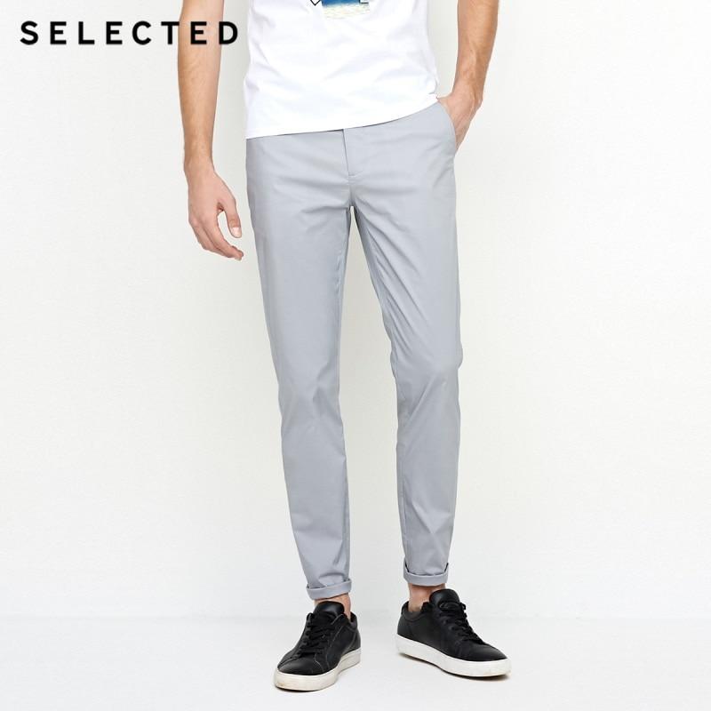 เลือก Slim fit เอวสายยาว S  4182W2517-ใน กางเกงลำลอง จาก เสื้อผ้าผู้ชาย บน AliExpress - 11.11_สิบเอ็ด สิบเอ็ดวันคนโสด 1