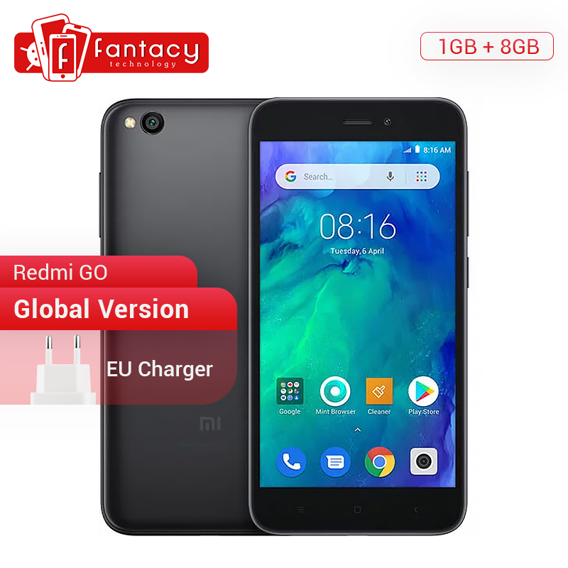 Global Version Xiaomi Redmi GO 1GB RAM 8GB ROM Snapdragon 425 Quad Core Dual SIM Cards