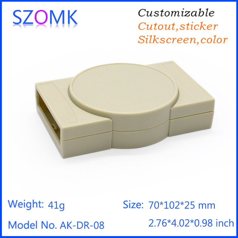 20 pieces a lot szomk good looking easy use plastic enclosure box for electronic 70*102*25mm 2.8*4*1inch20 pieces a lot szomk good looking easy use plastic enclosure box for electronic 70*102*25mm 2.8*4*1inch