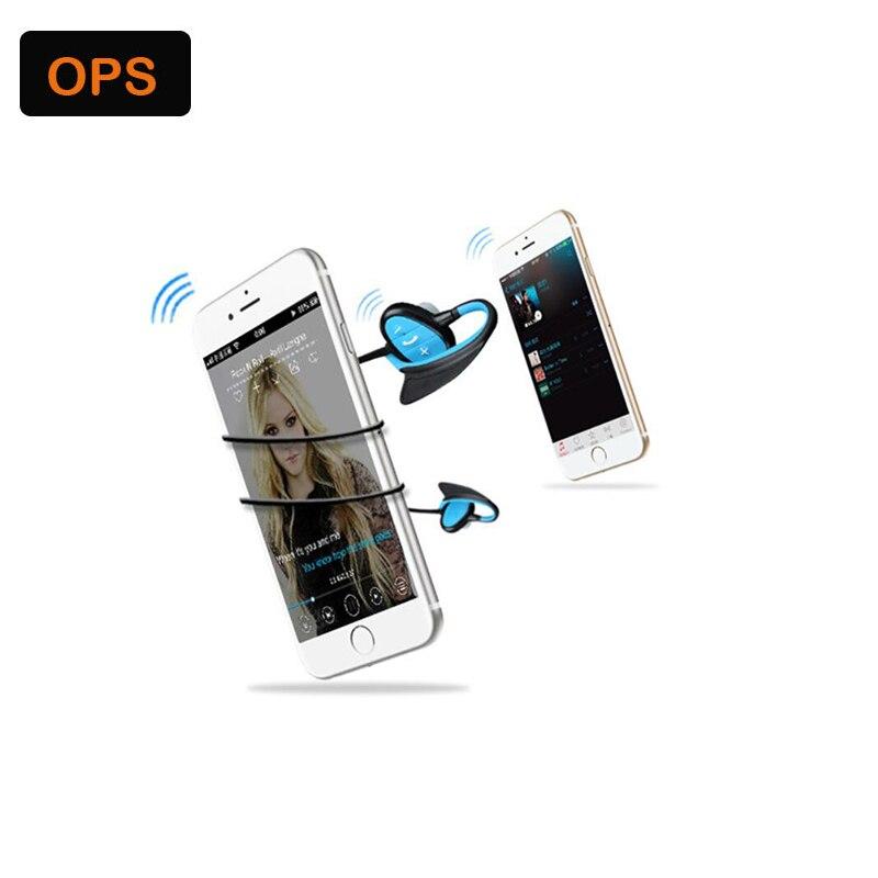 IPX8 su geçirmez Bluetooth kulaklık HD gürültü kulaklık - Taşınabilir Ses ve Görüntü - Fotoğraf 4