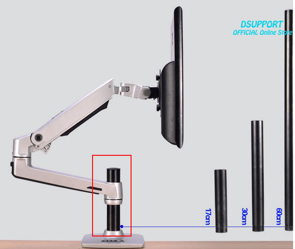 Desktop Stand Column Stand Height 30cm 40 Cm 60 Cm For XSJ8103/8102 Ect. Column Stand Only.