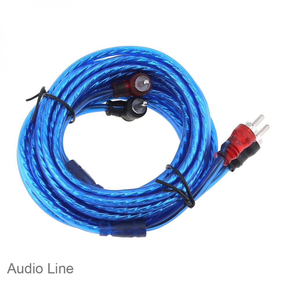 1 Set 350 Core 4 Square Pvc Copper Clad Aluminum Car Power To Wiring Amplifier Audio Line Speaker Woofer Cables In Fuses From Automobiles Motorcycles