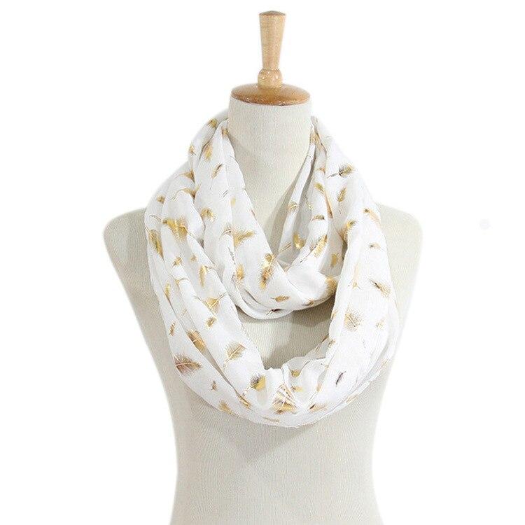 №Nueva moda de algodón oro bufanda alta calidad decorativa ...