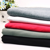 Pure 100 Cotton Fleece Fabric Patchwork For Terry Cloth Warm Sportswear Knitting Clothing Diy Garments