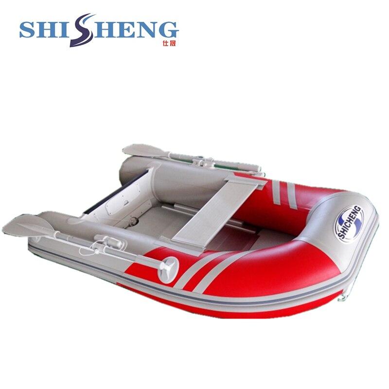 2018 petit bateau de pêche chinois/bateau gonflable en pvc pour une personne - 4