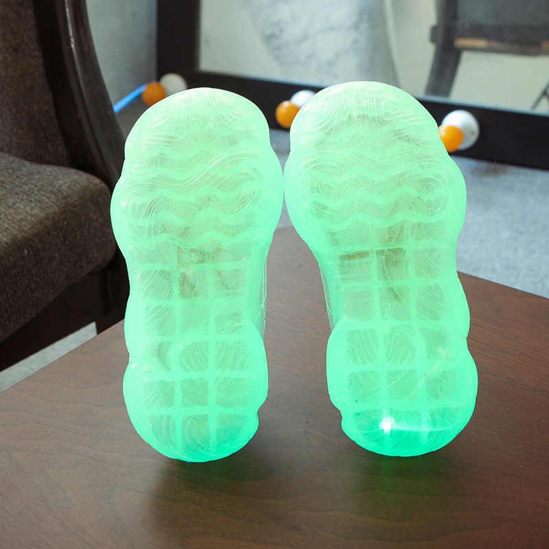 ฤดูร้อนเด็กรองเท้าแสงสำหรับเด็ก luminous รองเท้าผ้าใบเด็กวัยหัดเดินรองเท้าเรืองแสงรองเท้าผ้าใบสาวแฟชั่นกีฬารองเท้า