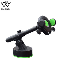 XMXCZKJ Gravity Car Phone Holder For Iphone 7 Huawei Samsung Adjustable Phone Stand Holder For Xiaomi Huawei Honor