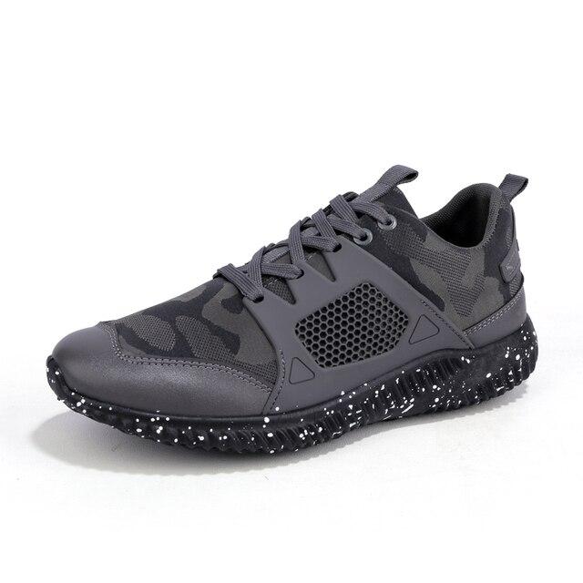 Chaussures de course pour hommes Casual Lace-Ups Sneaker respirant chaussures de sport de marche 16Im3