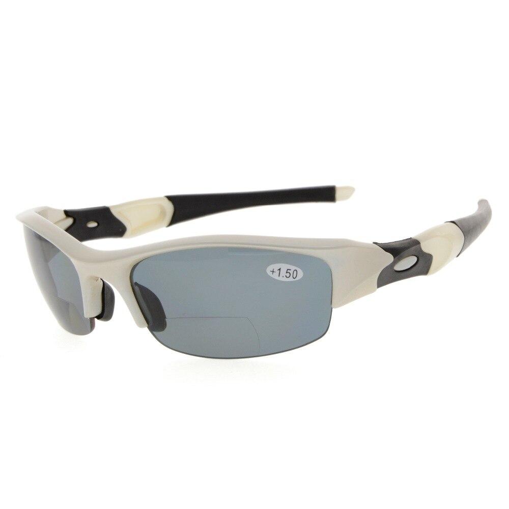 Eyekepper TH6166 Bifocais Esportes Unbreakable TR90 Half-Aro Óculos Bifocais Óculos de Leitura + 1.0/+ 1.5/+ 2.0/+ 2.5/+ 3.0