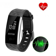 S2 Bluetooth Smart Band Bluetooth 4.0 Wristband Heart Rate Monitor IP67 Waterproof Smartband Bracelet For Android IOS Pk SH02 S1