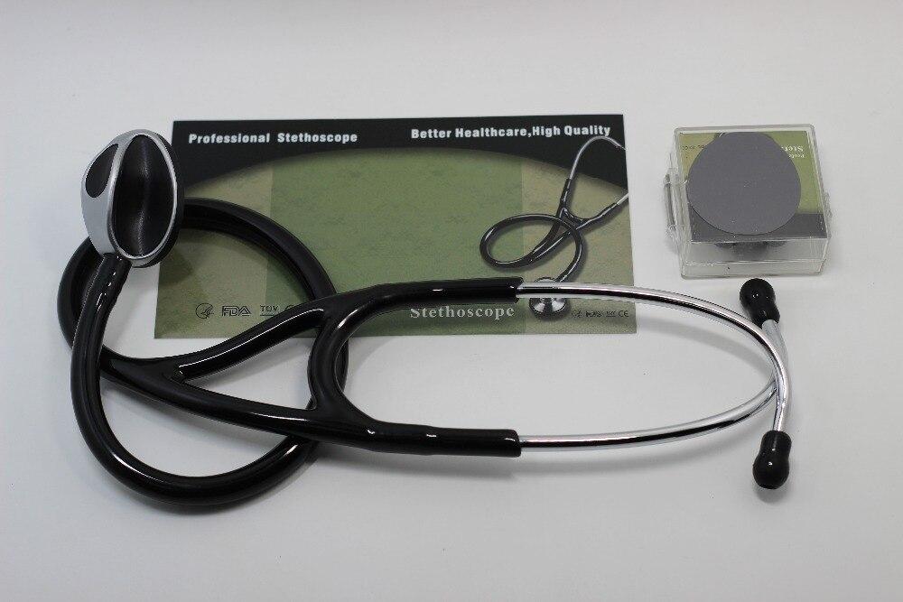 Stethoscope Medical luxury snake head heart lung stethoscope send earplugs diaphragm heart lung specialist stethoscope