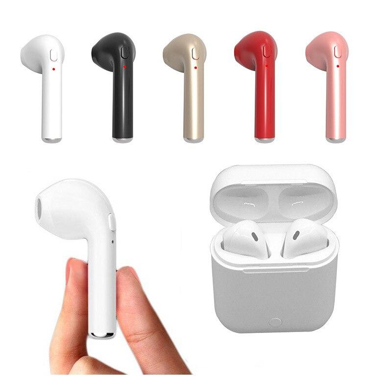 Bluetooth Headset Mini i7s TWS Handsfree Sport Earbuds Wireless <font><b>Headphones</b></font> Bluetooth Earphone With Microphone Charging box