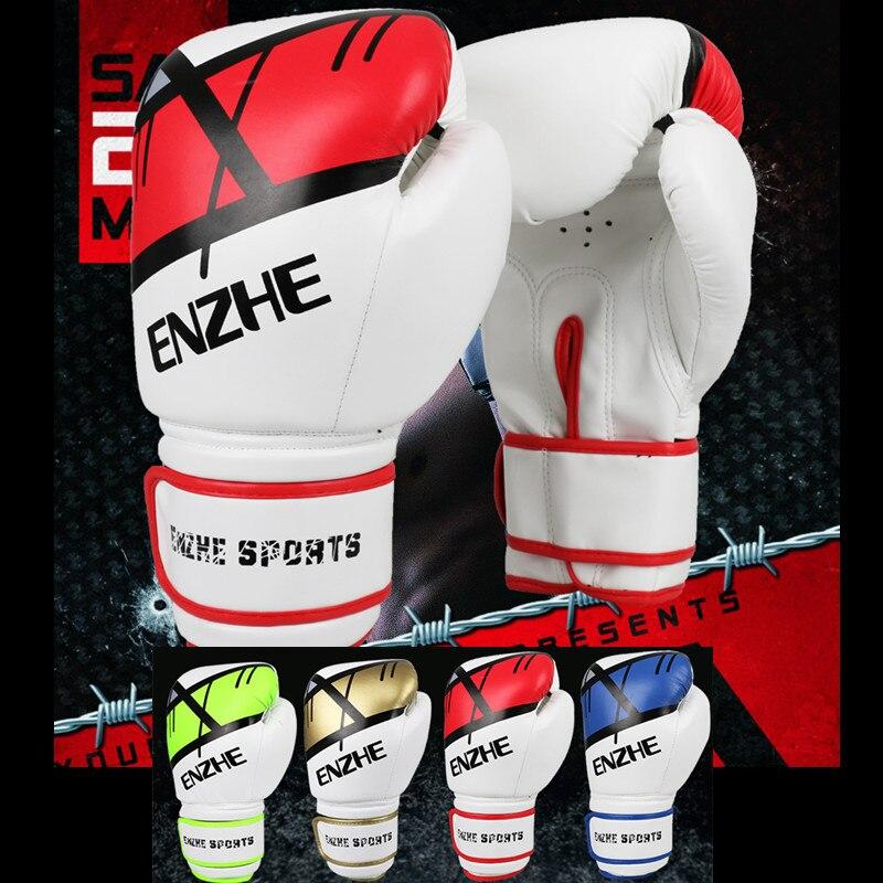 30*17cm MMA glove colored Boxing Gloves Men/Women punching Sandbag Muay Thai Fighting Training glove Sports Equipment mittens