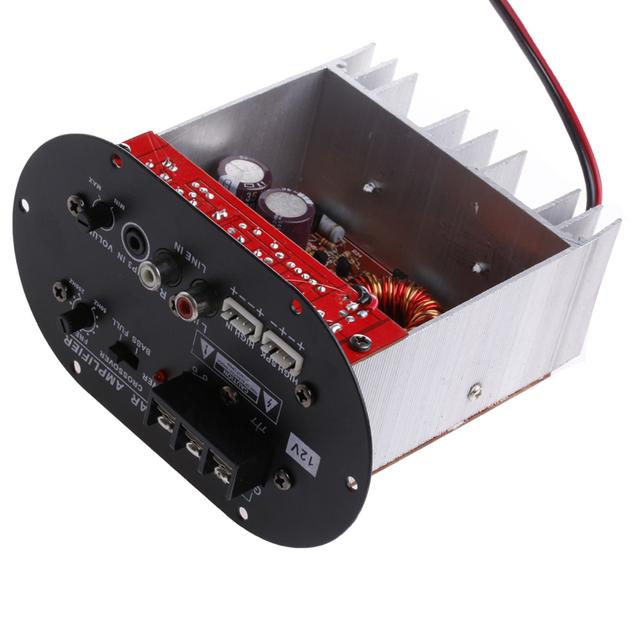 """120 W 8-12 """"Tubo de Núcleo Placa Do Carro Trítono/Amplificador de Baixo Puro 12 V"""