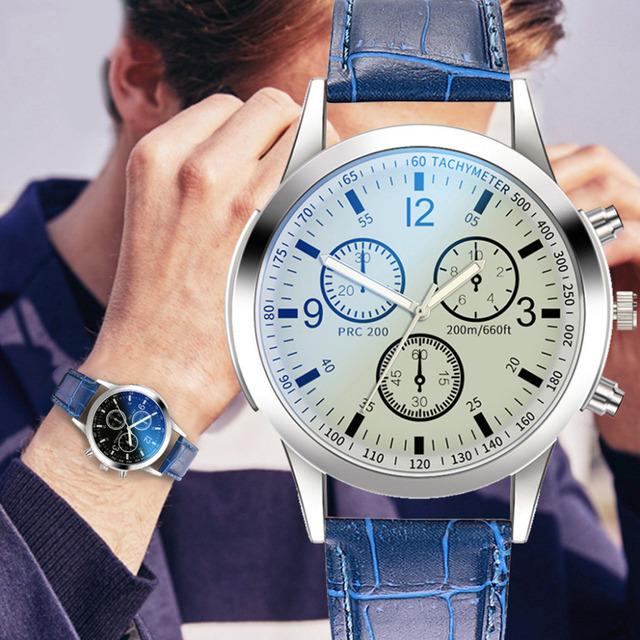 Men's Business  Quartz Wrist Watch