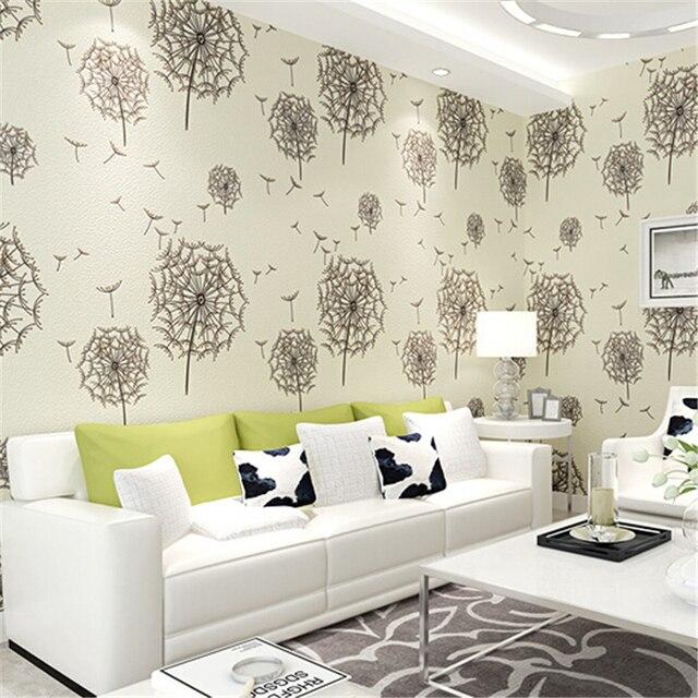 Beibehang Modern American Rustic Papier Peint Flower Wallpaper
