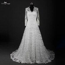 yiaibridal RSW836 Winter Long Sleeve Wedding Dress With