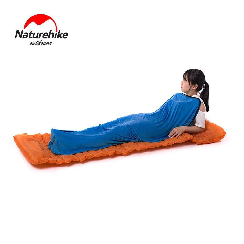 Naturehike Outdoor Travel Camping Sleeping Bag Liner Portable Ultralight High Elasticity Travel Sheet Camping Travel Hotel Use