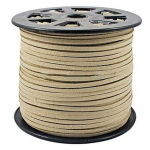 Image 3 - 100 Yard/roll 4mm/5mm Korean Leather Faux Suede Lace Cord String Rope Thread DIY Bracelet Necklace Findings DIY Beading