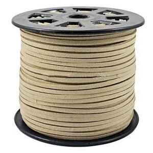Image 3 - 100 quintal/rolo 4mm/5mm coreano couro falso camurça laço corda corda fio diy pulseira colar descobertas diy miçangas