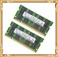Оперативная память для Samsung 4GB 2x2GB 667MHz PC2-5300 DDR2 Ноутбук 4G 667 5300S 2G 200-pin SO-DIMM Бесплатная дотсавка