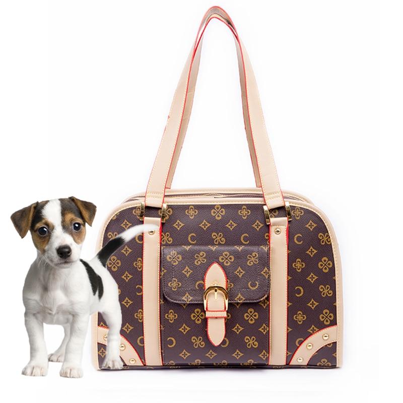Tote Puppy-Handbag Dog-Carrier-Bag Luxury-Bag Carry Travel Designer Pet-Cat Small Outdoor