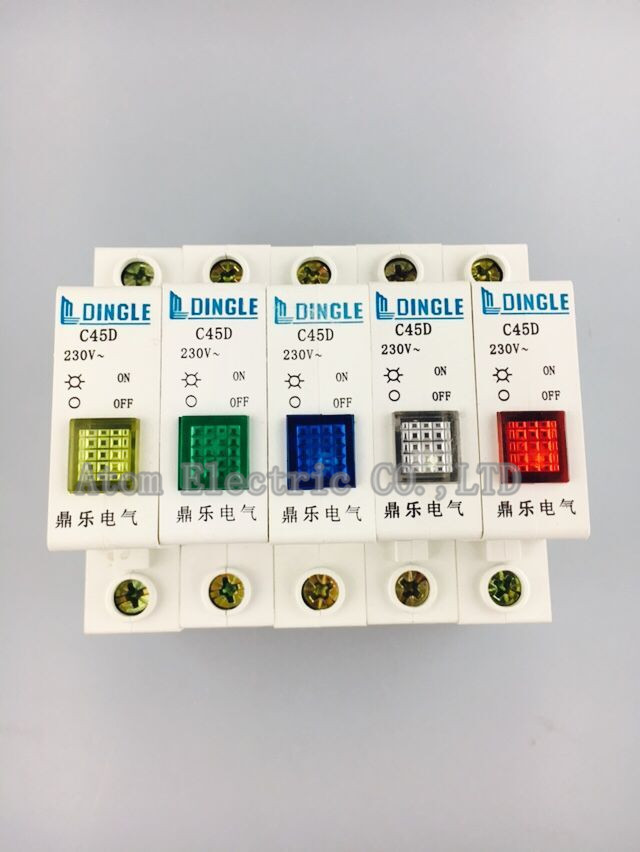 Led Lamp C45circuit Breaker Indicator Light Signal Lamp