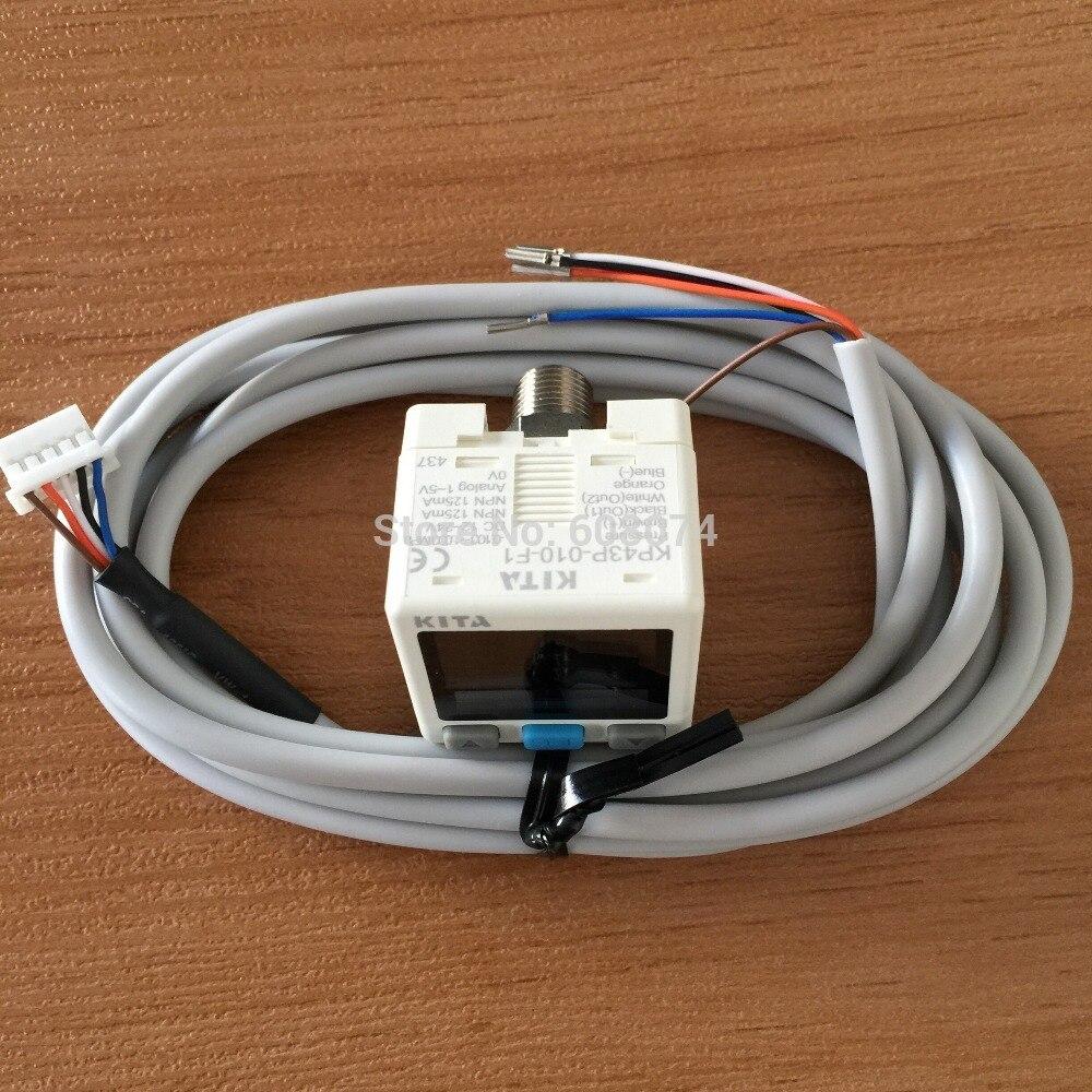 ФОТО TAIWAN KITA  digital pressure switche  KP43P-010-F1  -0.1~1.0MPa DC12-24V NPN 1~5V output