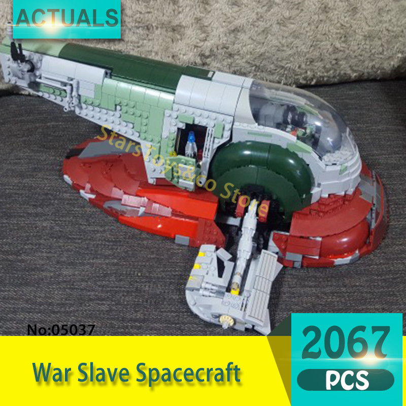 05037 2067Pcs Slave One  Model Building Blocks Set  Bricks toys For Children Gift 75060 Educational toys Star Series Wars